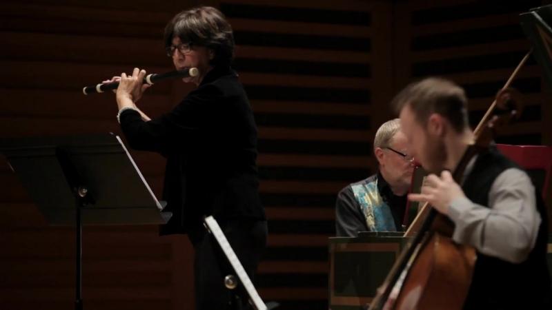 1079 J S Bach Sonata sopr' il soggetto Reale a traversa violino e continuo Musikalisches Opfer BWV 1079 P Spencer