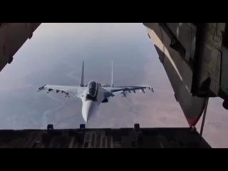 Пилоты ВКС РФ показали в Сирии высший пилотаж на Су-30СМ. Просто класс!