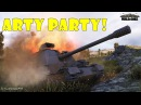 World of Tanks Funny Moments ARTY PARTY 12