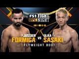 Fight Night Japan Jussier Formiga vs Ulka Sasaki