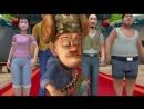 Медведи-соседи 2 сезон 088. Король обезьян и принцесса железный веер