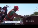 Восстановление моста в Дебальцево на трассе «Киев-Должанский» 16.09.2017, Панорама