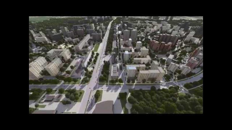 Концепция реновации на Проспекте Вернадского от Моспроекта и Гинзбург Арките