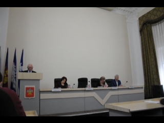 Председатель Совета Белореченского городского поселения Аслан Алиевич Цику на сессии отчитался о работе Совета за 2017 год