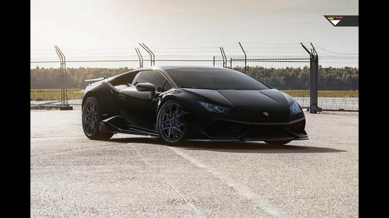 Dia Show Tuning Vorsteiner VFN 507 Felgen Bodykit am Lamborghini Huracan