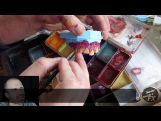 Сидни Камби накладные зубы для кино / как сделать
