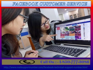 Acquire effect oriented Solutions By Facebook Customer Service 1-850-777-3086
