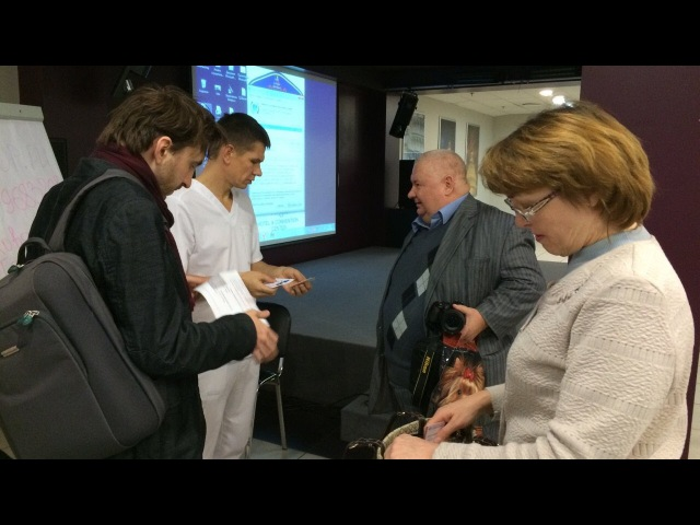 Олег Хазов Висцеральная терапия Выступление на конференции РАНМ 17 18 12 2016