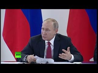 Путин проводит заседание в Новосибирске: «О глобальной конкурентоспособности российский науки»