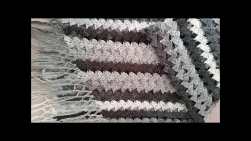 Su taşı modeli ile etol şal nasıl yapılır şalmodelleri örgüşalyapımı