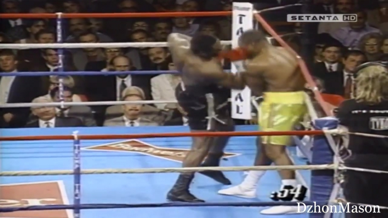 Michael Moorer vs Bert Cooper Highlights Мурер vs Купер