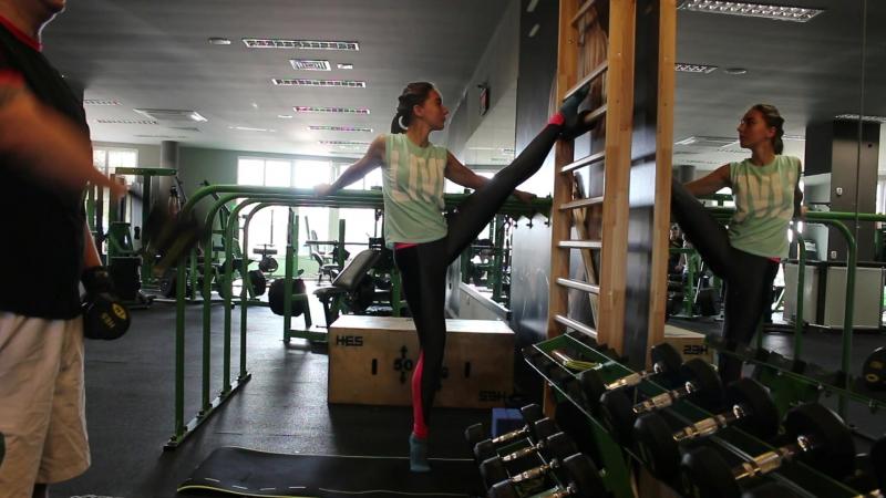 Irina Tatuiko. Rozciąganie nóg. Stretching for legs. Растяжка ног