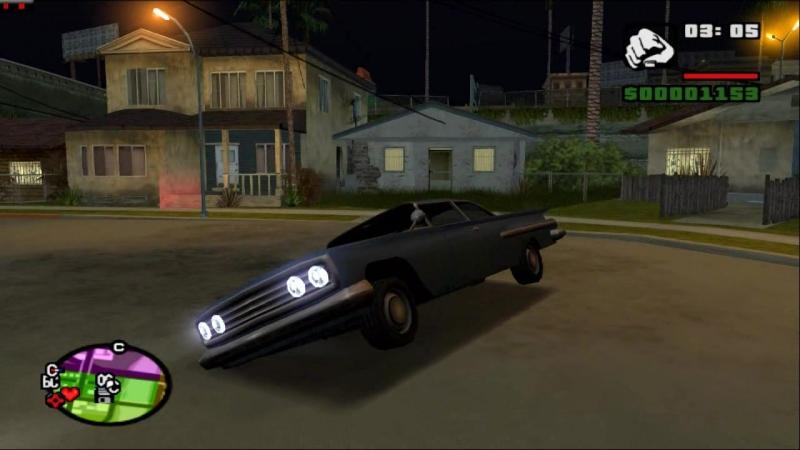 Grand Theft Auto San Andreas PCSX 2 16 9 HD 720 p