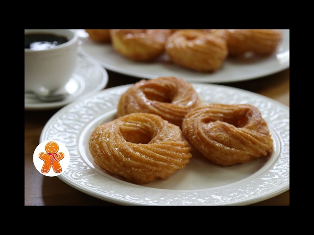 Французские Пончики ✧ French Crullers ✧ French Donuts English Subtitles