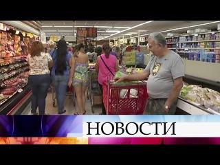 Жители Флориды штурмуют супермаркеты, готовясь кудару урагана «Ирма».
