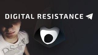TELEGRAM НЕВОЗМОЖНО ЗАБЛОКИРОВАТЬ? Что такое DIGITAL RESISTANCE