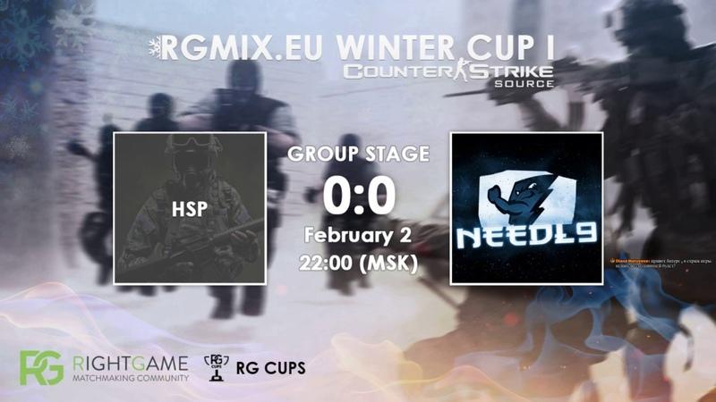 RGMIX.eu Winter Cup 1 [HSP vs Needl9] Group B