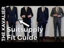 Suitsupply Suit Fit Guide - Havana, Sienna, Washington, Jort, La Spalla