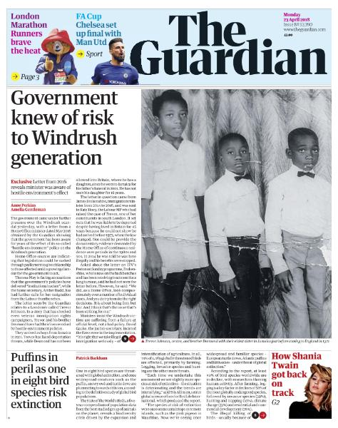 The Guardian - April 23, 2018