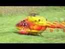 Huge R_C Scale BK-117 Medicopter 117 at Heliflightday Dulliken 2014