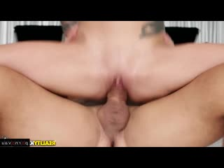 Karma Rx & Ramon Nomar [ Big boobs / Milkings, boobs, Cumshot in mouth, Heels, Shaved, Tattoo, Skirt, Pussy]