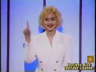 Madonna Steals Arsenio Hall's Opening Scene (1990)