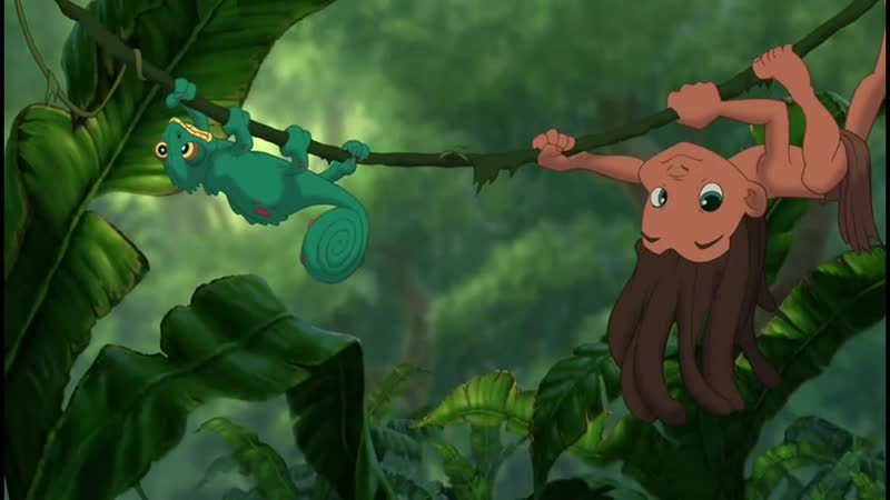 Тарзан Tarzan мультфильм 1999 Александр Малинин Сын людей Муз фрагмент