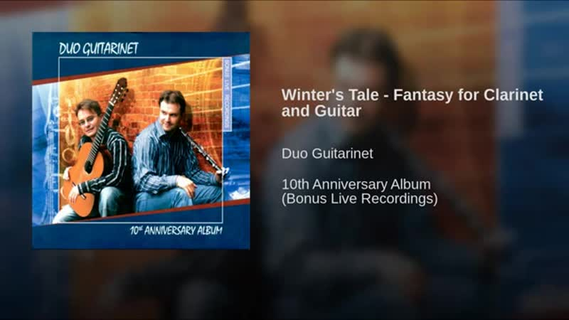 Marek Pasieczny WINTER'S TALE for Clarinet and Guitar