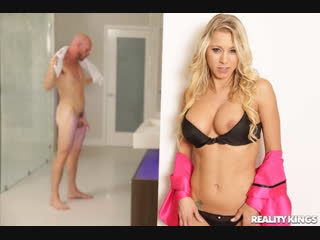 Katie morgan [pornmir, порно вк, new porn vk, hd 1080, face fuck, tattoos, facial, shower, blonde, milf]