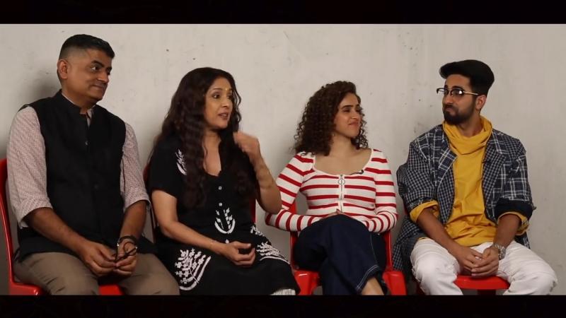 Ayushmann Gajraj INVENT New CONDOM FLAVORS _ Neena Gupta _ Sanya Malhotra _ Ba