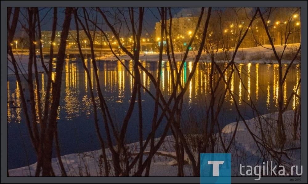 Река Тагил - ожерелье города