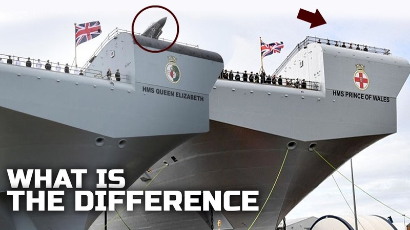 What is the difference between R08 and R09 UK's new Supercarrier and Which is Better?