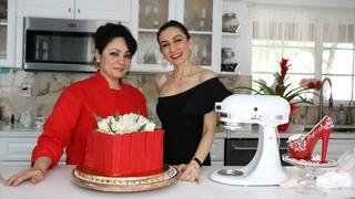Մայրերի Օրվա Տոնական Տորթ - Athinas Cake Studio - Հեղինե - Heghineh Cooking Vlog #60
