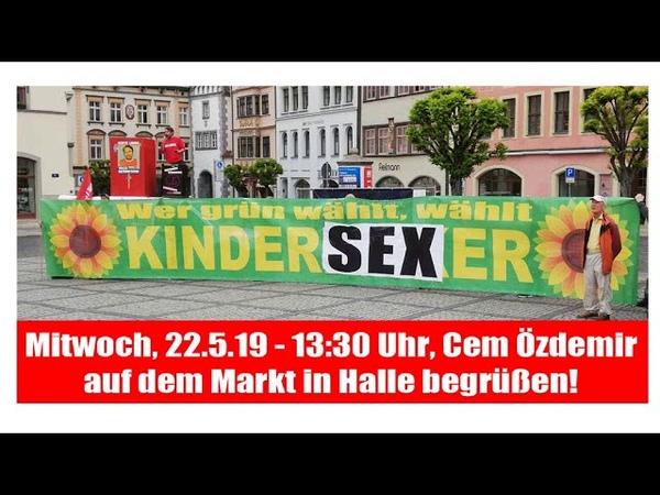 EIL TEILEN Sven Liebich Mittwoch 22 5 19 2 Termine gegen Grüne und Linksläuse Özdemir