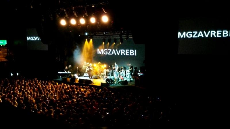 Mgzavrebi Презентация сборника лучших песен Krebuli