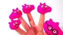 Слайм Слизь Лизун Учим цвета и поем песенку Развивающая Песня про пальчики Семья пальчиков