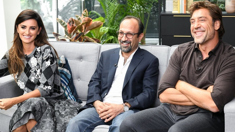 Penelope Cruz Javier Bardem talk Asghar Farhadis Everybody Knows - TIFF 2018