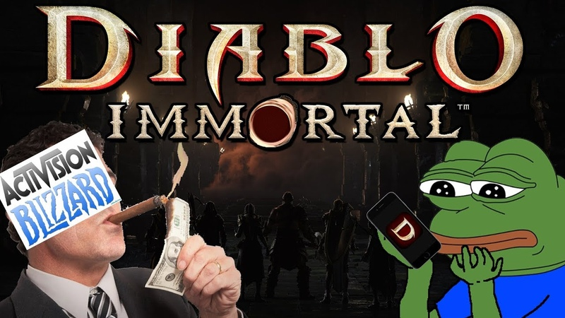 Diablo Immortal Blizzard's Blizzcon Sh t Show My Thoughts