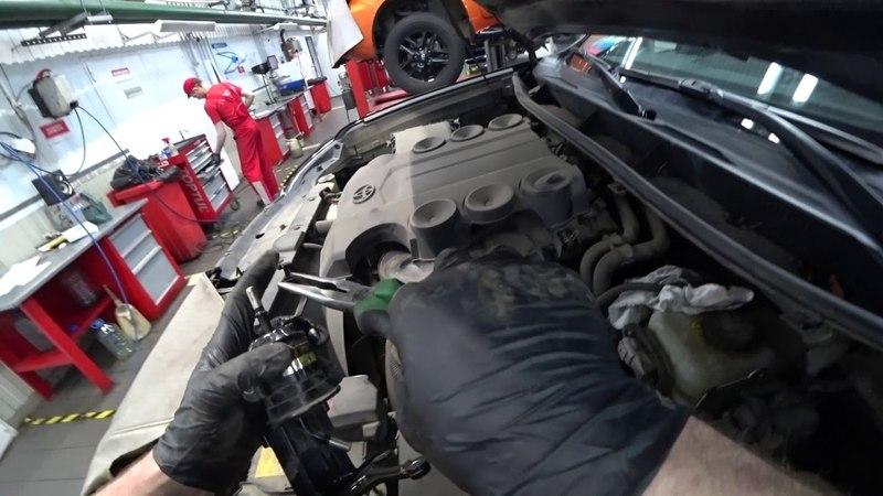 ТЦЛ LC150 Мотор 1GR FE Замена топливного фильтра