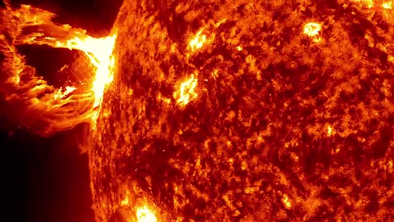 An exciting video of the Sun from NASA