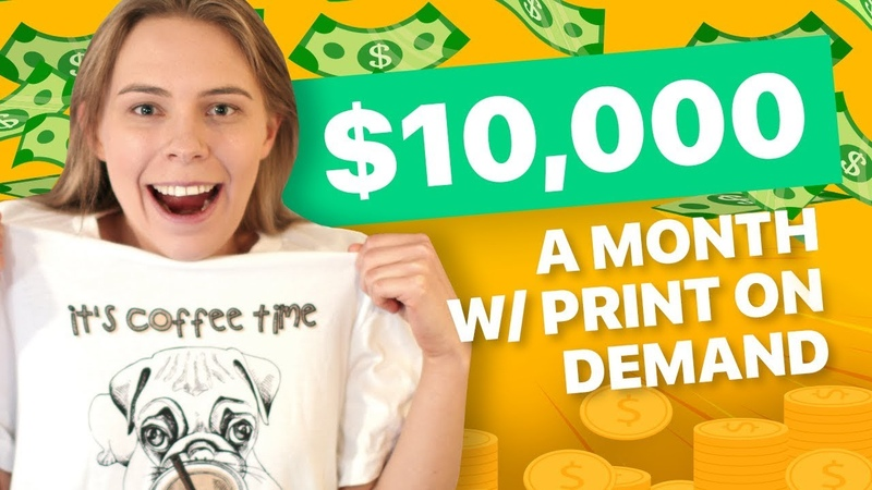 TUTORIAL: $10,000/Month with Print On Demand (By Choosing the RIGHT Designs) - Printful Tutorial