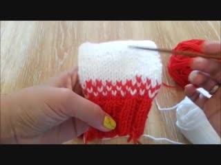 Как связать свитер для мальчика 4-5 лет с круглой кокеткой спицами.
