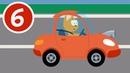 ГОНКИ НА СПОРТИВНЫХ МАШИНАХ - Котёнок и волшебный гараж - Мультик про животных на гоночных машинках