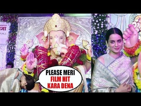 'Kangana Ranaut' Take Blessings Of 'Andheri Cha Raja' Before 'Manikarnika' Release