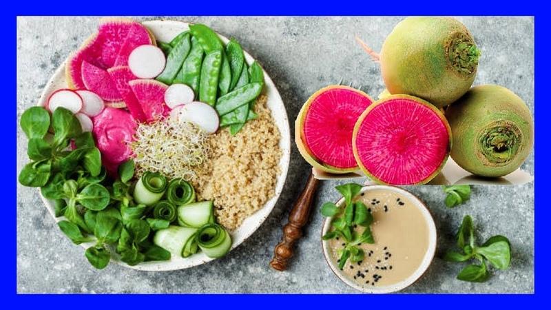Beneficios Y Propiedades del Rábano Sandía - Watermelon Raddish - Corazón de la Belleza
