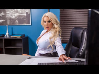 Nicolette Shea (The View From Down Here) [2019, big tits, blowjob, titfuck, cunnilingus, missionary, blonde, doggy style]