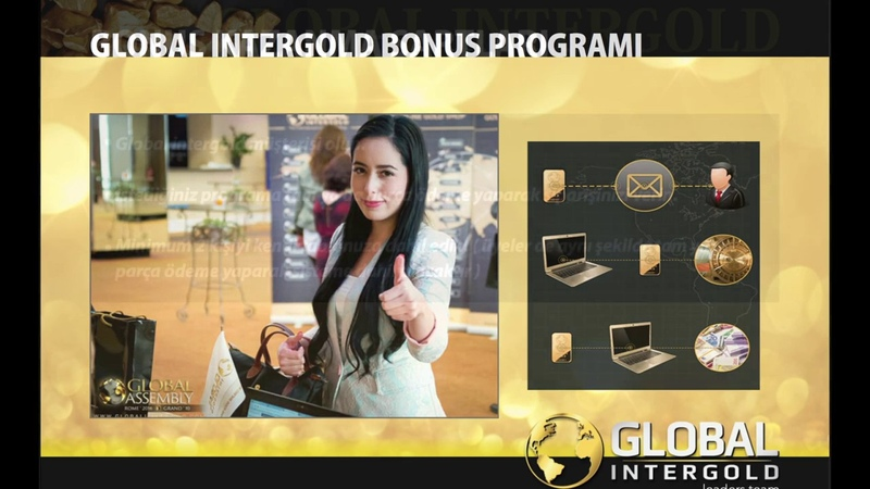 GLOBAL INTERGOLD TURKCE Sunumu Goldset Global Pro Smart Liderlik Kariyer