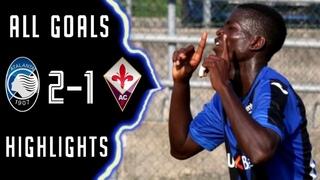 Atalanta Fiorentina U19 2-1 Sintesi e Gol - Highlights Goals - HD *CAMPIONATO PRIMAVERA*