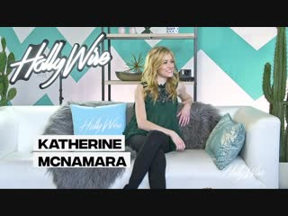 Katherine McNamara reveals her CELEBRITY CRUSH!  Katherine McNamara Interview