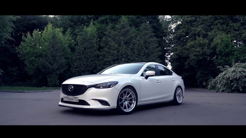 Mazda 6 Atenza Gj on Rohana Wheels RC10